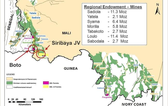 Senegal approves mining permit for Iamgold's Boto