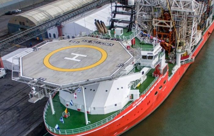 New Debmarine Namibia diamond recovery vessel approved