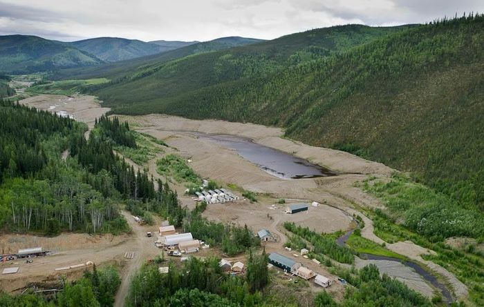 White Gold's White Gold property in the prospective White Gold district of Canada's Yukon Territory